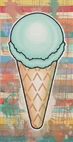 green cone by donald baechler