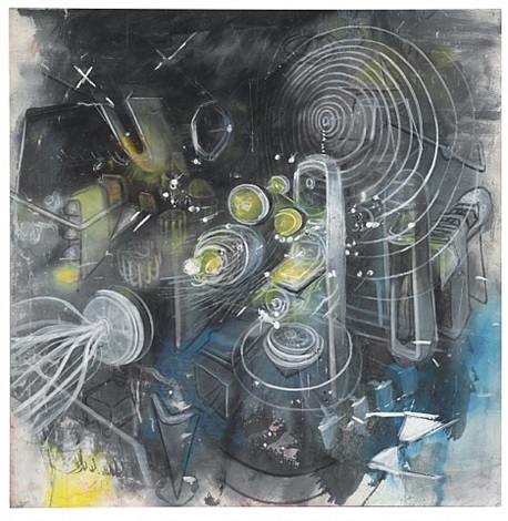 ouvre le feu by roberto matta