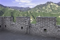 hiding in the city series no. 91 - great wall by liu bolin