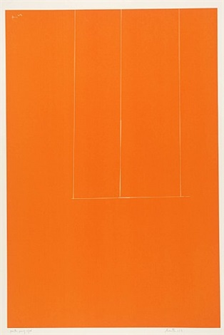 london series i: untitled by robert motherwell
