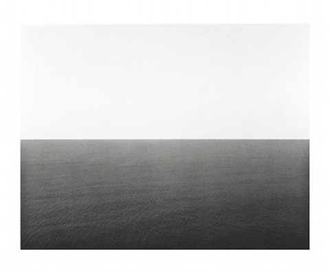 english channel, western cliff by hiroshi sugimoto