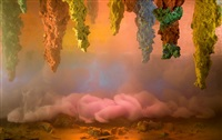 abstract 9193e by kim keever