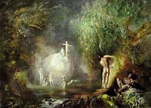 les baigneuse by frank mason