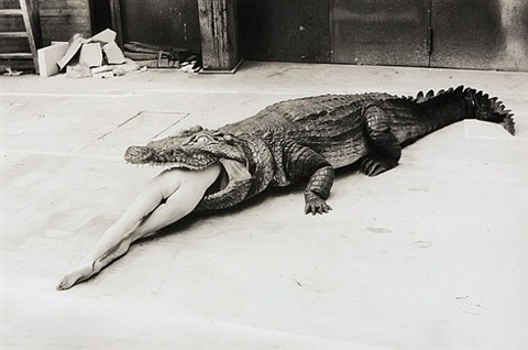a scene from pina bausch's ballet, die keuschheitslegende (the legend of virginity), wuppertal by helmut newton