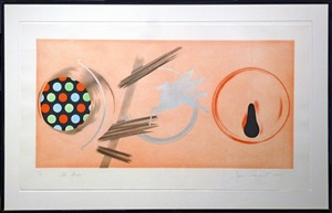 pale lamps by james rosenquist