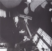 john lennon in studio by robert freeman