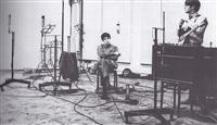 john and paul in studio by robert freeman