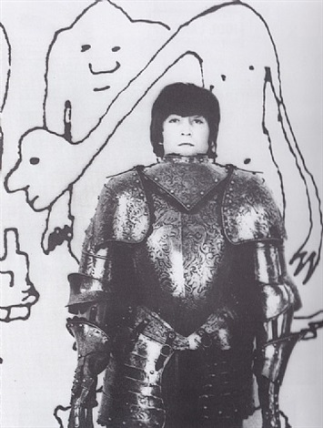 john lennon and armour by robert freeman