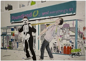 a pounding outside poundland (or how my nose got its wonk) by stuart semple