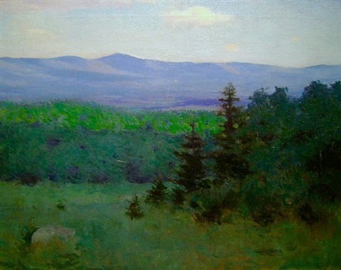 mount monadnock by frank weston benson