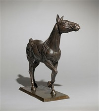 horse with anatomy by sir eduardo paolozzi