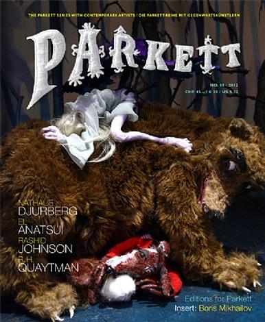 parkett 90: el anatsui, nathalie djurberg, rashid johnson, r.h. quaytman isbn 978-3-907583-50-3