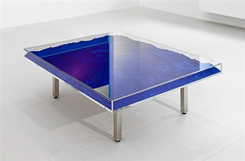 Table Bleue By Yves Klein On Artnet