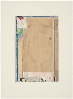 touched red by richard diebenkorn