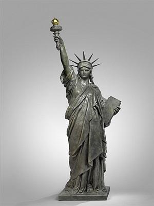 liberty enlightening the world by frédéric auguste bartholdi