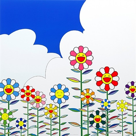 flower2 by takashi murakami