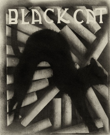 black cat cigaretts by pierre dubreuil