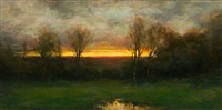 autumn glow (sold) by dennis sheehan