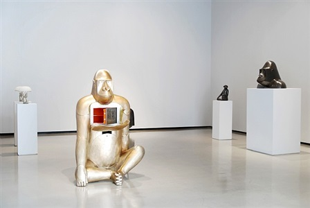 installation view by claude and francois-xavier lalanne