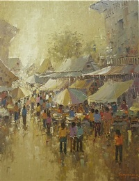 markets of the orient viii by sampansak porsakun