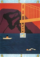 golden gate by joan brown