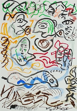 untitled (chaos) by henry miller