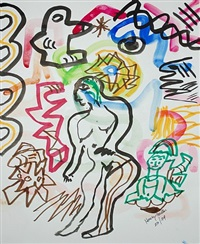untitled (female figure) by henry miller