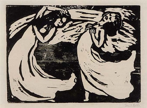 tänzerinnen (the dancers) by emil nolde