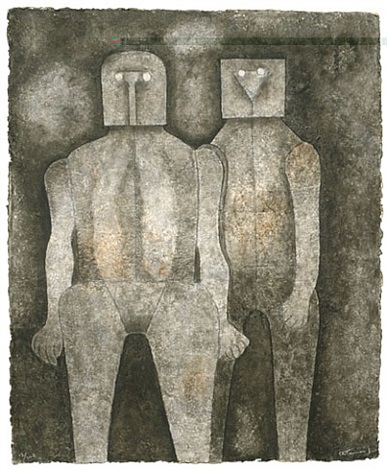 dos hermanos by rufino tamayo