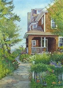 summer garden by deborah l. chabrian