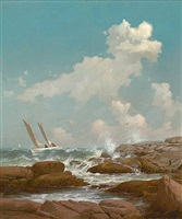 star island, isles of shoals by warren w. sheppard
