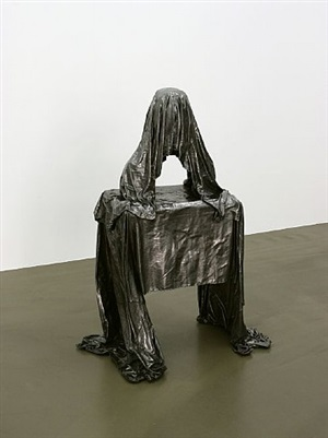 vanished sculptures (bust) by simon schubert