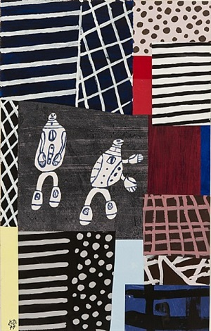 partition by jean dubuffet