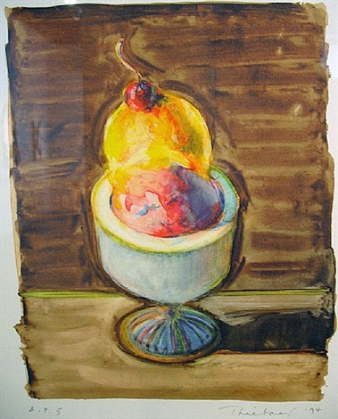 sorbet by wayne thiebaud