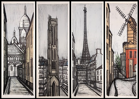 paravent by bernard buffet
