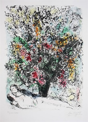 multiflore by marc chagall