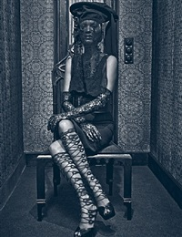 kate moss by steven klein