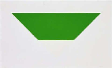 green/white by ellsworth kelly