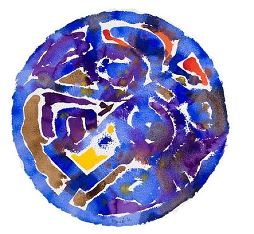 blue water for kenojuak i by harold klunder