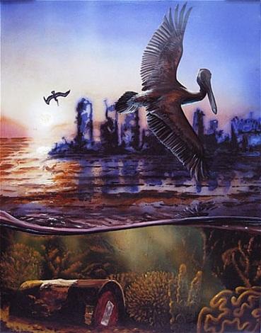 the pelican by alexis rockman