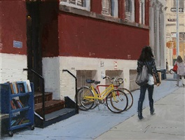 bicycles in soho (sold) by vincent giarrano