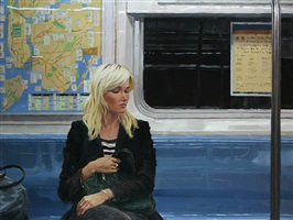 subway car (sold) by vincent giarrano