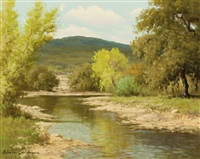 river landscape by palmer chrisman