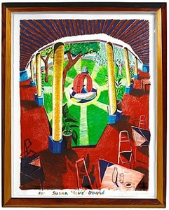 l.a. art show by david hockney