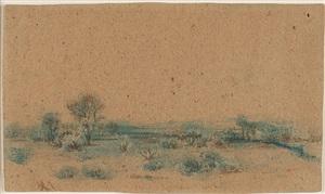 open landscape by ralph albert blakelock