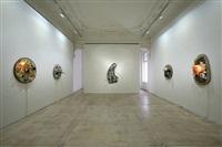 installation view galerie krinzinger, wien 2012 by daniel spoerri