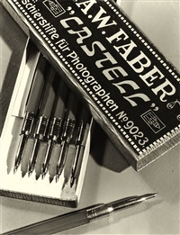 advertisment for faber castell retouch pencils by hans blesius