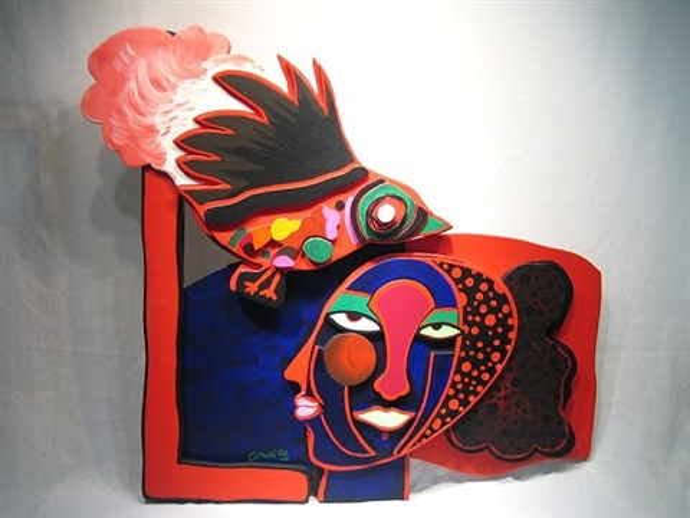 bird mural by corneille