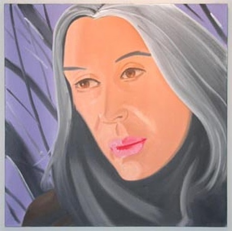ada in purple by alex katz