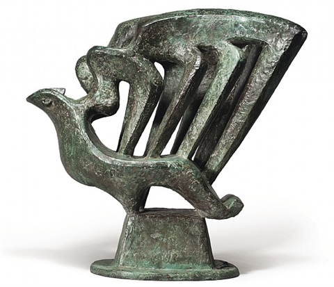 the harpists by jacques lipchitz